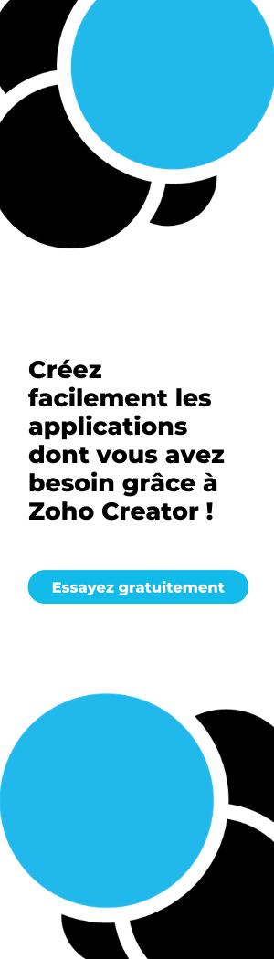 ScaleUp Project Zoho Creator Low Code Application